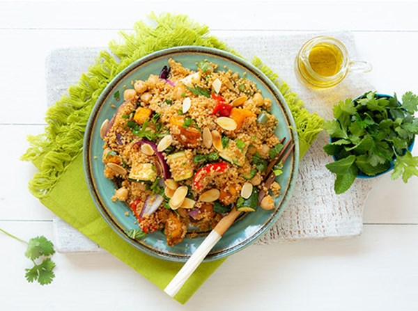 Roast Vegetable & Citrus Couscous